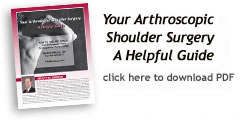 Your Arthrosopic Shoulder Surgery A Helpful Guide