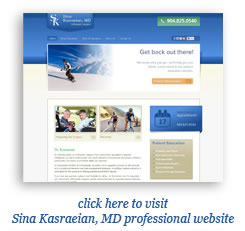Sina Kasraeian's website