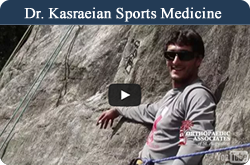 Dr.Kasraein Sports Medicine Video