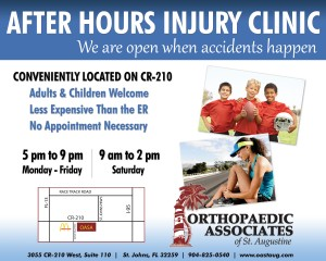 After Hours Injury Clinic Ad