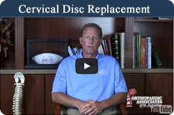 Dr. Haycook Cervical Disc replacement video