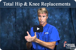 Total hip and knee replacements