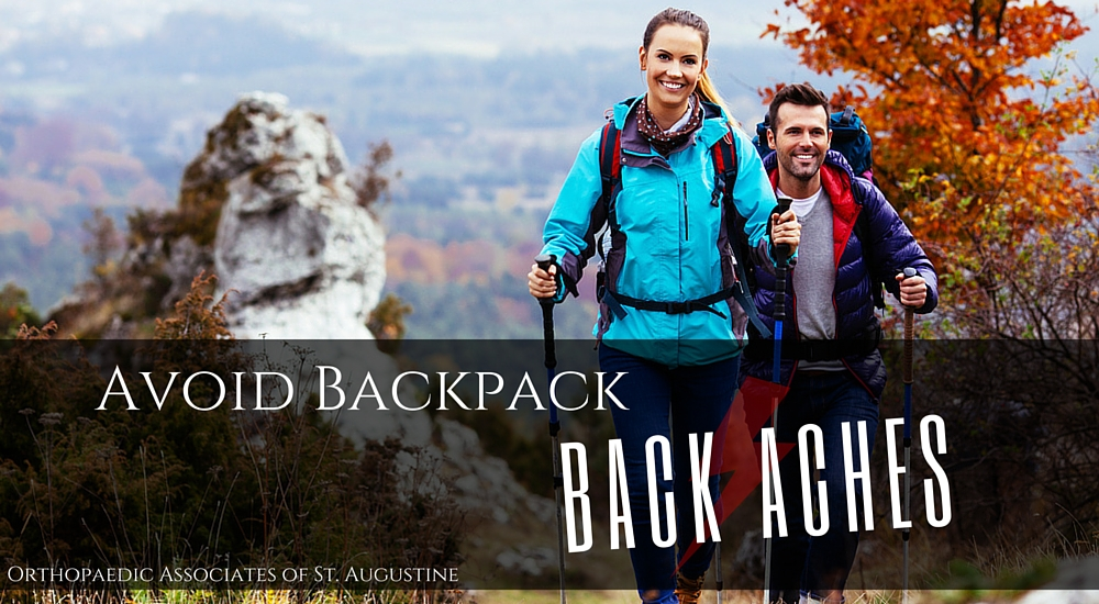 Avoid Backpack Back Aches