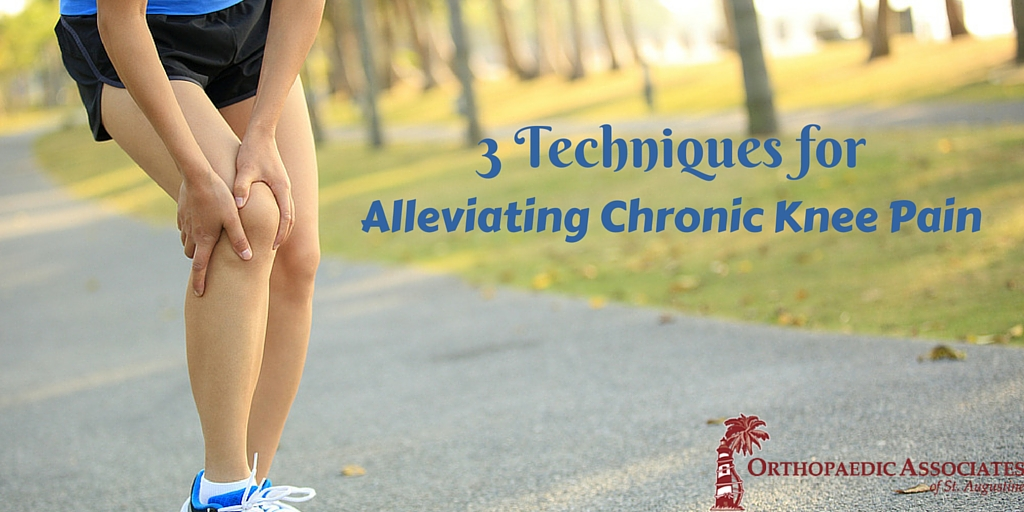 3 Techniques for Alleviating Chronic Knee Pain