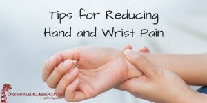 Tips For Reducing Wrist Pain