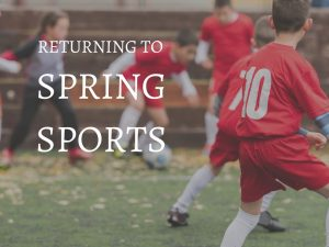 Spring Sports are Returning