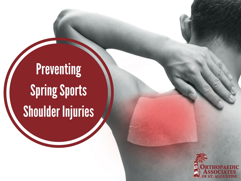 Preventing Spring Sports Shoulder Injuries