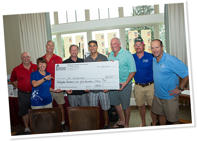 2018 Orthopaedic Associates of St Augstine golf tournament fundraiser